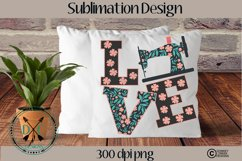 Sewing Love Sublimation Design Product Image 1