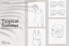 Tropical Summer Branding Set Product Image 1