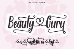Beauty Guru, decorative script font Product Image 1