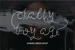 Chalky Voyage Script Product Image 1