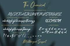 The Chemical Brush Font Product Image 9