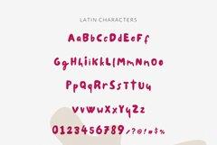 Chubby Font Le Petit Cochon Webfont Product Image 3