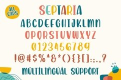 Septaria | Playfull Handdrawn Font Product Image 5