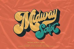 Midway | Retro Script Font Product Image 1