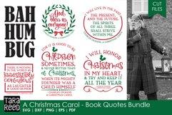 A Christmas Carol Book Quotes - Christmas SVG files Product Image 1