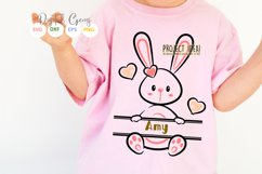 Split Bunny Rabbits, Easter SVG / DXF / EPS / PNG files Product Image 2