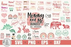 Mommy and me svg Bundle | Mama and baby svg Bundle Product Image 1