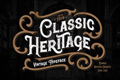 Classic Heritage typeface Product Image 1