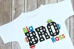 Car Themed Big Brother Sibling Design Product Image 2