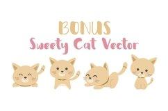 Web Font Sweety Cat Product Image 2
