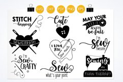 Sewing svg bundle cutting files svg, dxf, pdf, eps, png Product Image 2