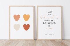 Boho Love PRINT, Love Wall Art Product Image 2
