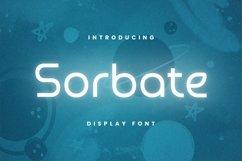 Web Font Sorbate Font Product Image 1