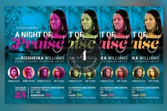 Worship Concert Church Flyer Template Product Image 6