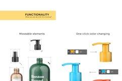 Cosmetic Bottles Mockup Vol.1 Product Image 3