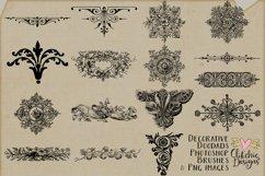 Decorative Photoshop Brushes - Vintage Decorative Clipart Product Image 2