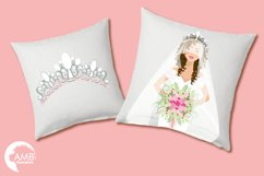 Wedding Bride cliparts AMB-937 Product Image 3