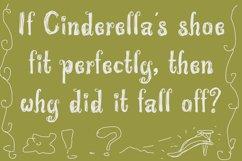 Wonderland Scratch | Pen Sketch Font Product Image 5
