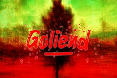 Goliend || spooky font Product Image 2