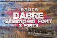 Dabre Font Product Image 3