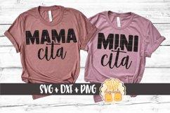 Mommy and Me SVG - Mamacita | Minicita - Cinco de Mayo Product Image 1