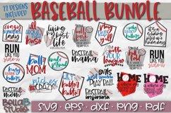 Baseball SVG Bundle, Baseball Mom SVG, Raising Ballers Product Image 1