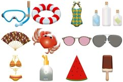 Summer Time Clip Art Product Image 3