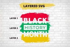 Black History Month SVG, African American Cut File Product Image 2