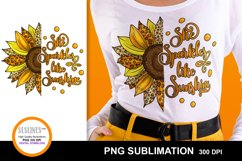 Sunflower Sublimation Designs MiniBundle with Leopard Print Product Image 6