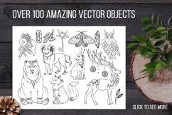 Sacred forest- big vector design kit Product Image 5