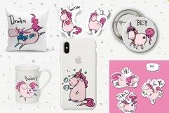 Magic Unicorns 18 stickers Rus-Eng Product Image 3