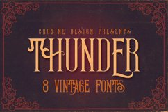 Thunder Typeface Product Image 1