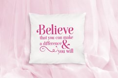 Inspirational Quote Bundle, Positive Sayings Cut Files Product Image 5