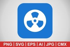 Vector Radiation Icon Product Image 1
