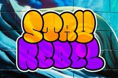 Bomber Throw Graffiti Font Product Image 4