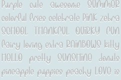 Sunny Days| Quirky Hand Written Font Product Image 3