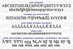 Breakfast Pastry - a decorative font family! Product Image 2