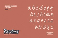 Barelang - A Modern Script Typeface Product Image 3