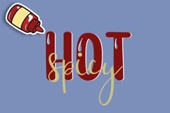 Web Font Really Hot Sauce Product Image 2