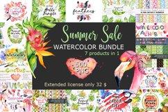 Summer Sale Watercolor Bundle 80OFF Product Image 1