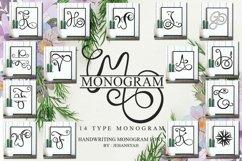 Monogram Handwriting font family Product Image 1