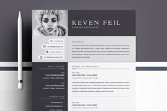 Professional Resume / CV Template Product Image 1
