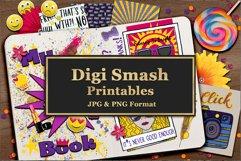 Digi Smash Printables For Scrapbooking and Smash Books Product Image 3