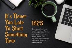 Web Font Needle Master Display Font Product Image 5