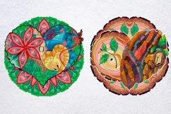 Hearts zentangle Product Image 7