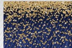 Navy Wood Gold Glitter 2oz Skinny Tumbler Sublimation Product Image 2