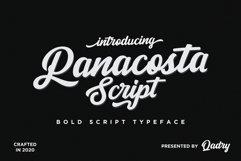 Panacosta Script Product Image 1
