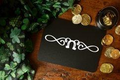 Web Font Lucky Dingbats - A Dingbat St Patrick's Day Font Product Image 4