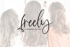 Freely Script Product Image 1