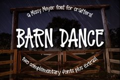 Barn Dance - a homey little font! Product Image 1